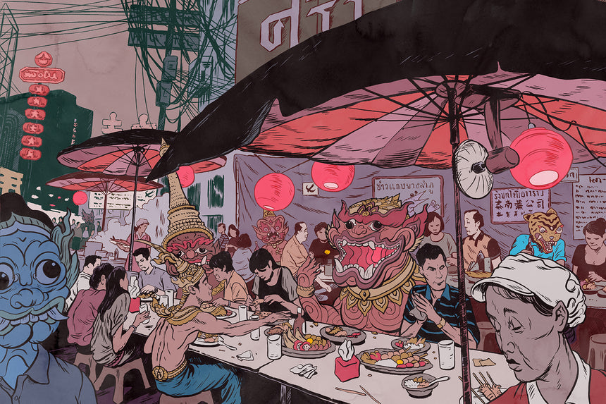 [Signed Exhibit] Bangkok Street Food by Mateusz Kolek
