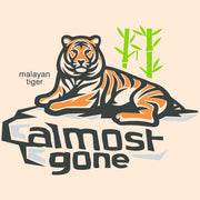 m color malayan tiger eco long sleeve