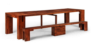 The Dining Set 2.0 + Chestnut