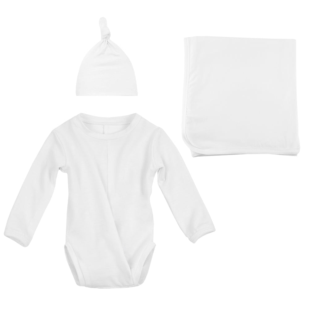 Newborn Bundle (Onesie, Blanket and Hat)