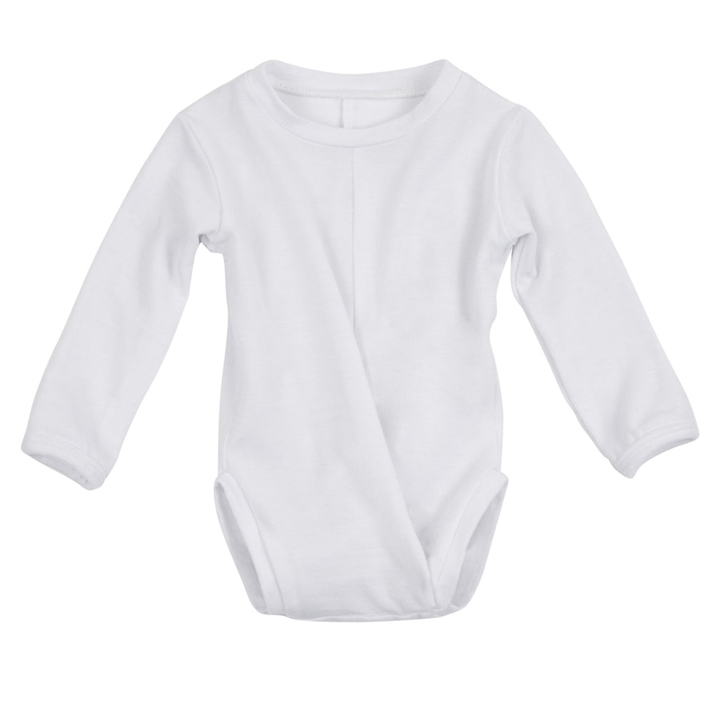 Signature Long Sleeve Peasy (White)