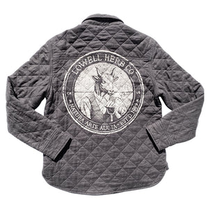 Women's Farm Jacket - Charcoal Grey
