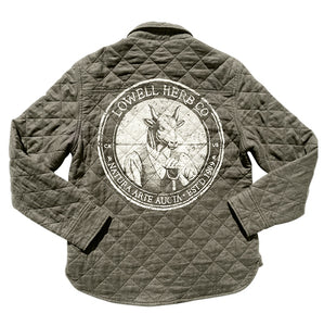 Women's Farm Jacket - Army Green