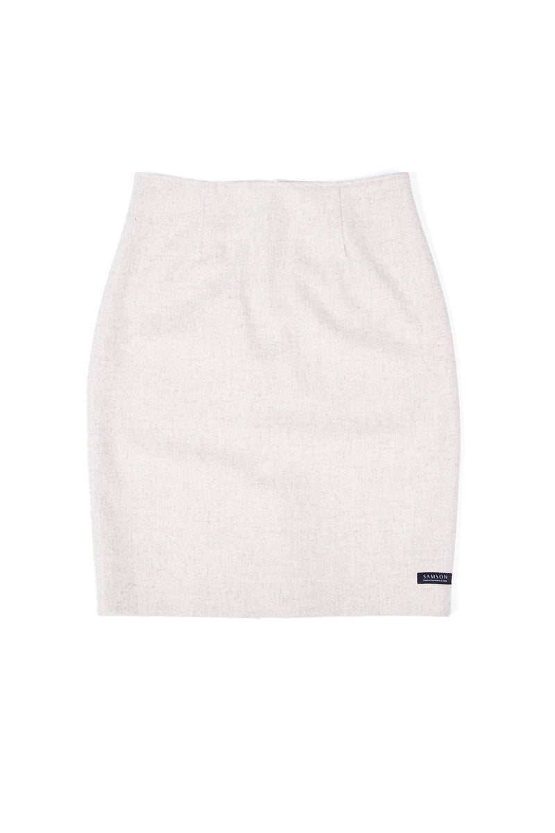 Pencil Skirt - Vanilla