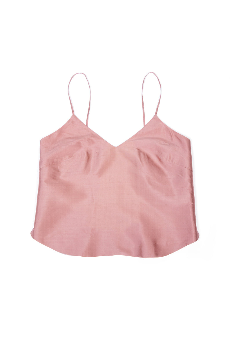 Luxury Camisole No 1 - Tea Rose Silk