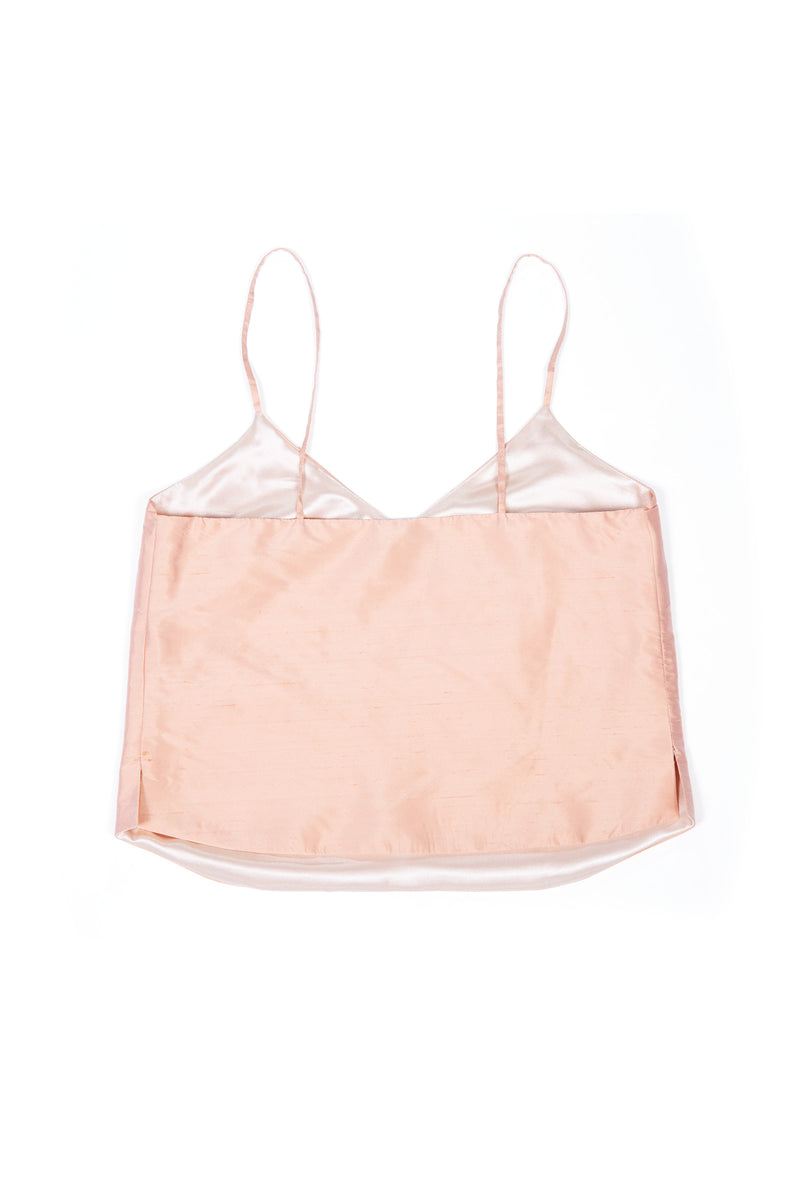 Luxury Camisole No 1 - Peach Silk