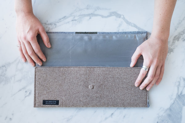 The Sustainable Clutch A-04 - Zero Waist