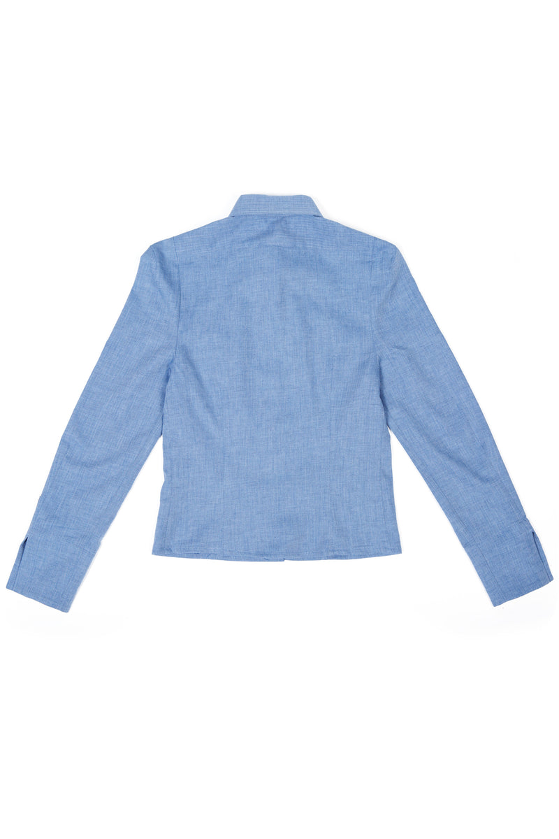 Samson Shirt - Distressed Blue