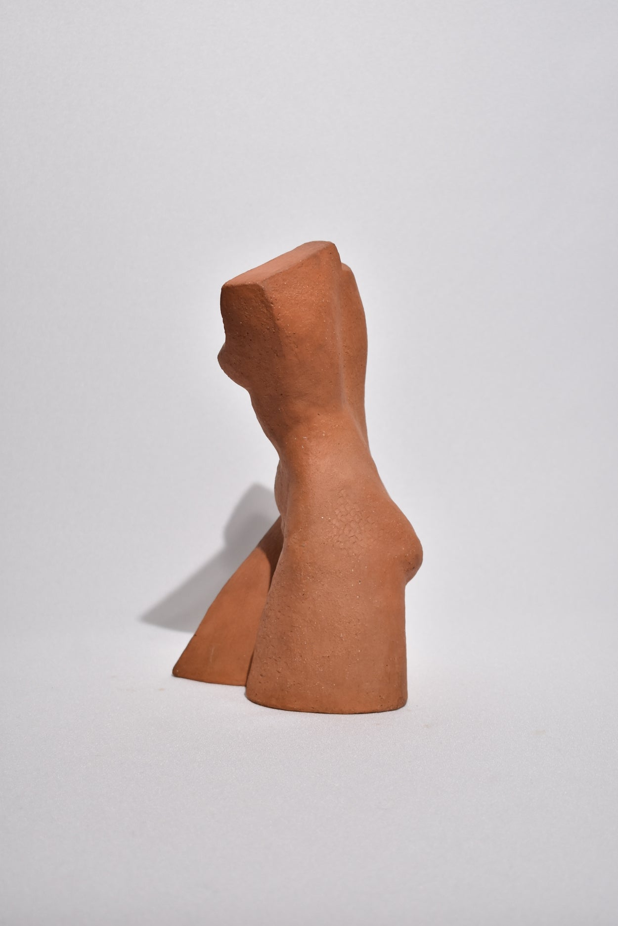 Cubist Terracotta Sculpture