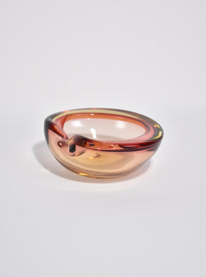 Pink Glass Catchall