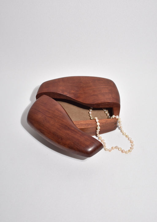 Hinged Wooden Jewelry Box