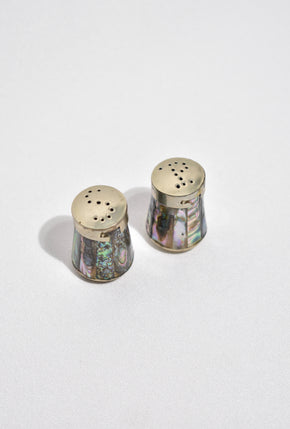 Abalone Salt & Pepper Shakers