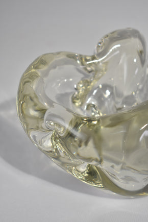 Organic Glass Bowl