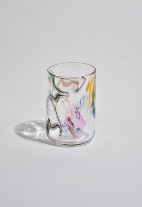 Colorful Abstract Tumbler Set