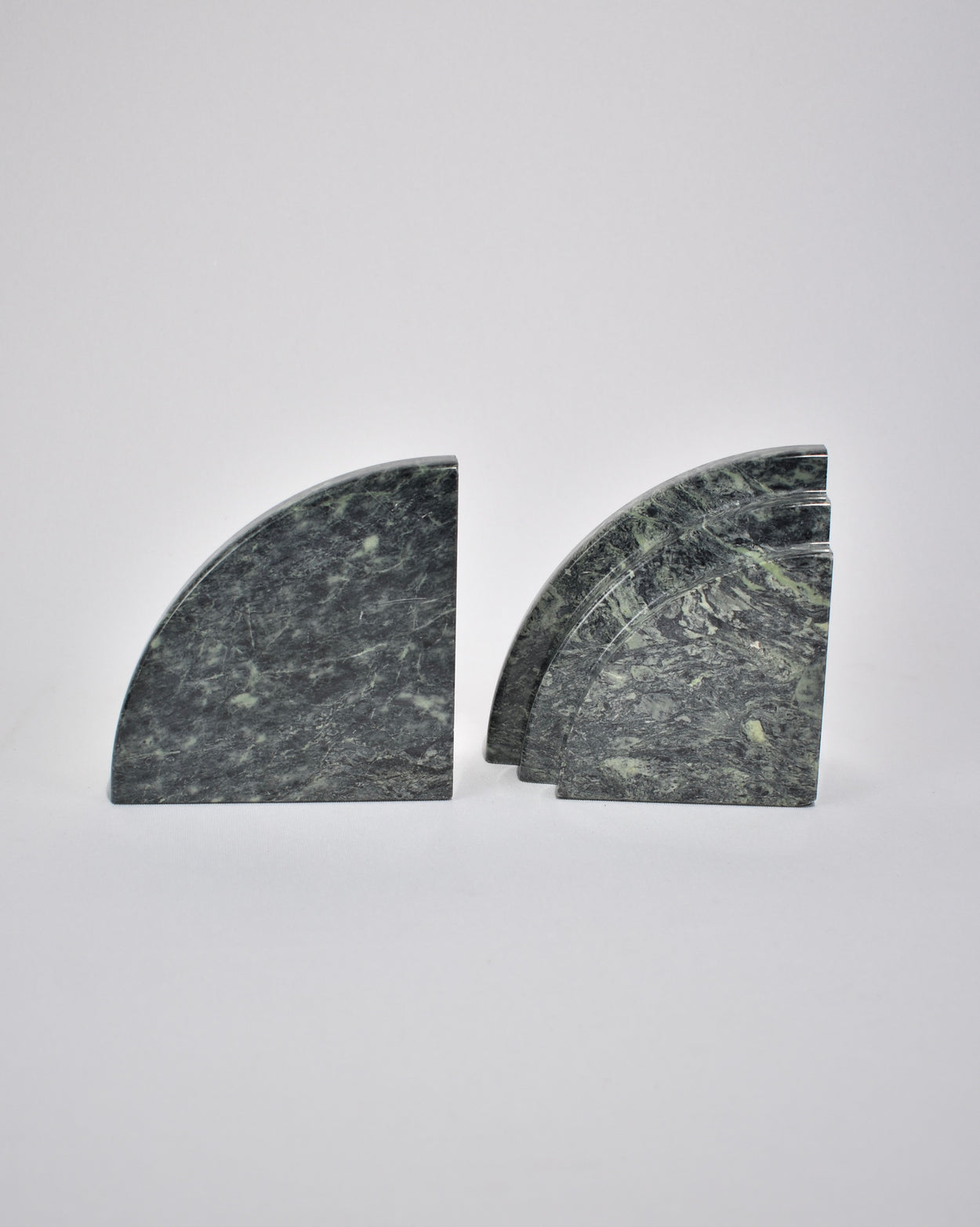 Curved Granite Bookends