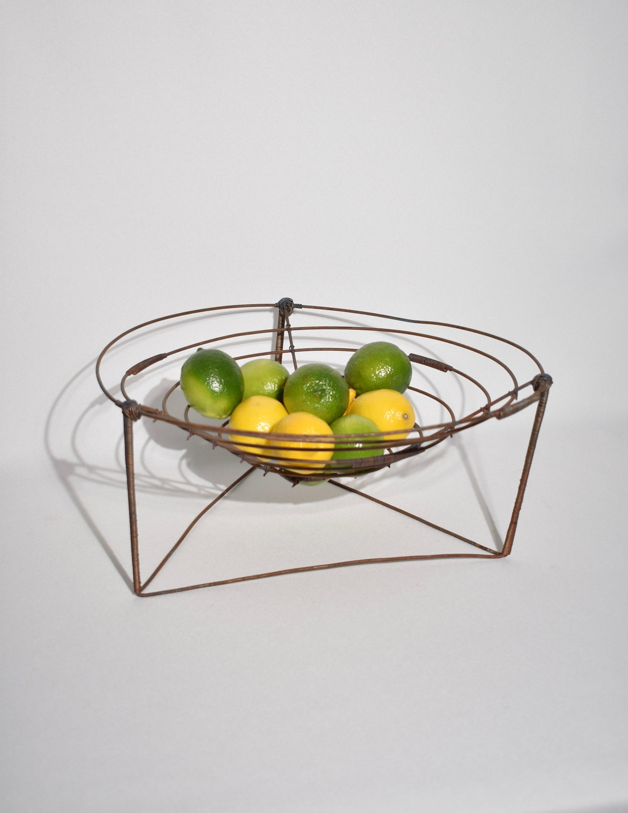 Brutalist Wire Basket