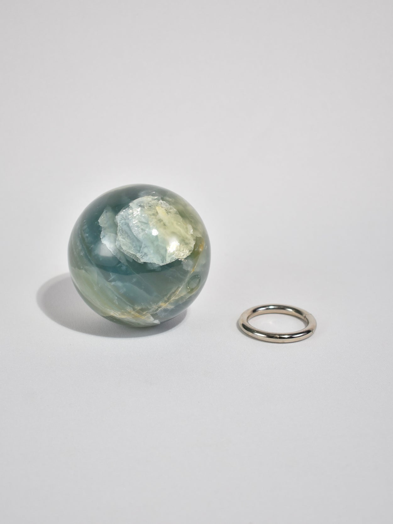 Green Quartz Sphere