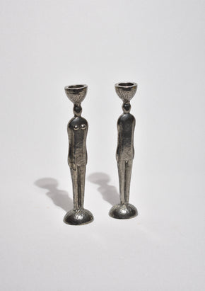 Figure Candleholder Set