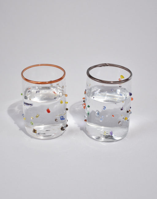 Confetti Glass Tumbler Set
