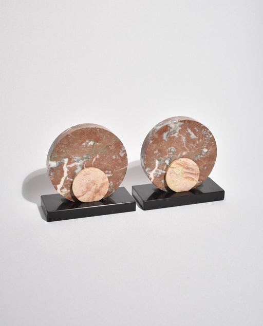 Marble Deco Bookends