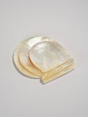 Mother of Pearl Plate Set