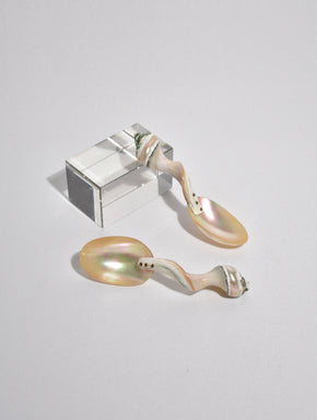 Mother of Pearl Shell Spoon Set