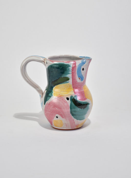 Abstract Ceramic Pitcher