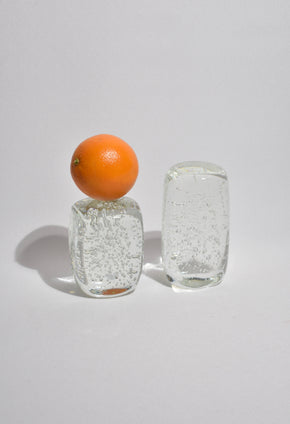 Bubble Glass Paperweight Set