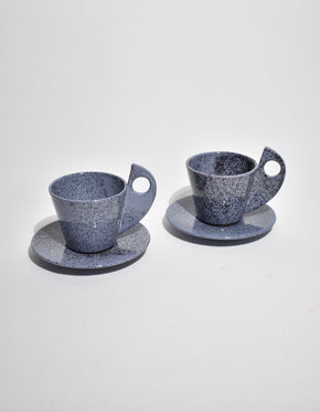 Postmodern Ceramic Teacup Set