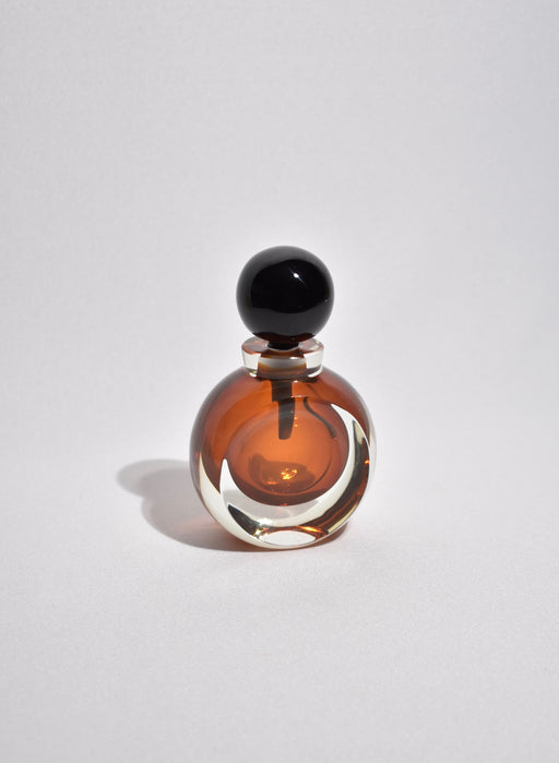Amber Glass Perfume Bottle