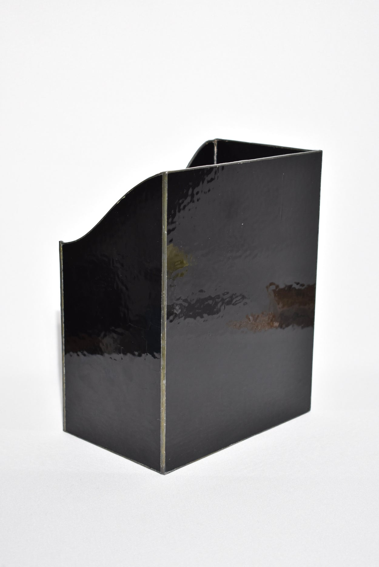 Glass Magazine Holder
