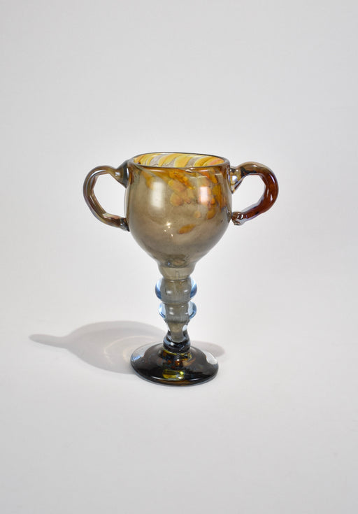 Blown Glass Goblet