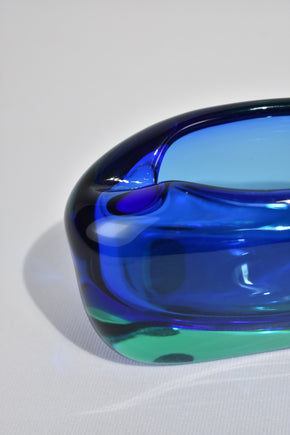 Blue Sommerso Bowl