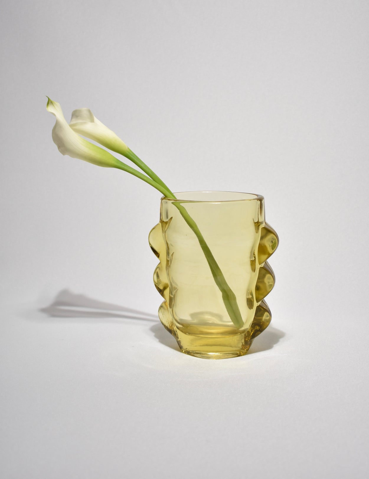 Marigold Glass Vase