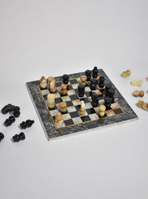 Stone Chess Set