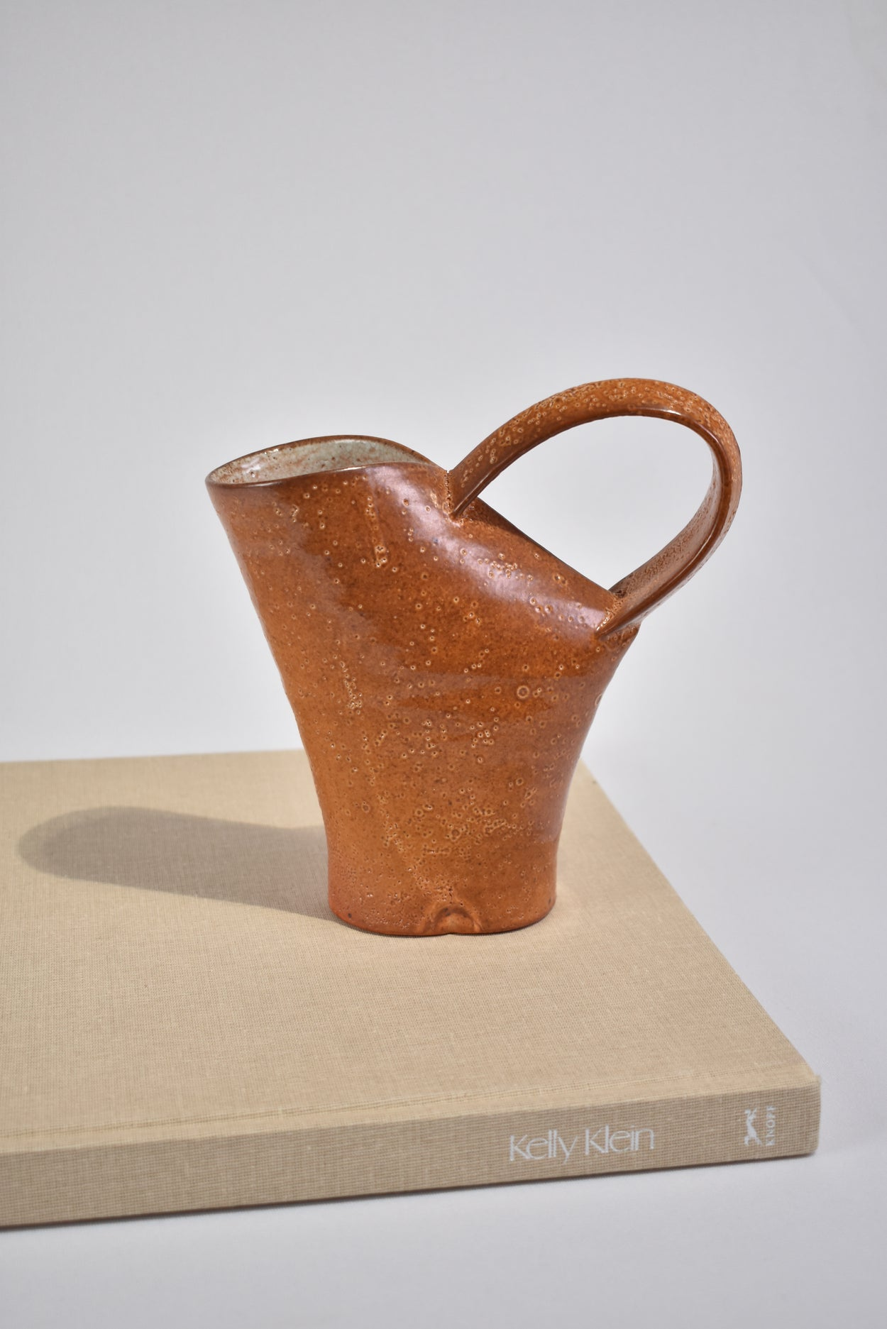 Terracotta Ceramic Pitcher