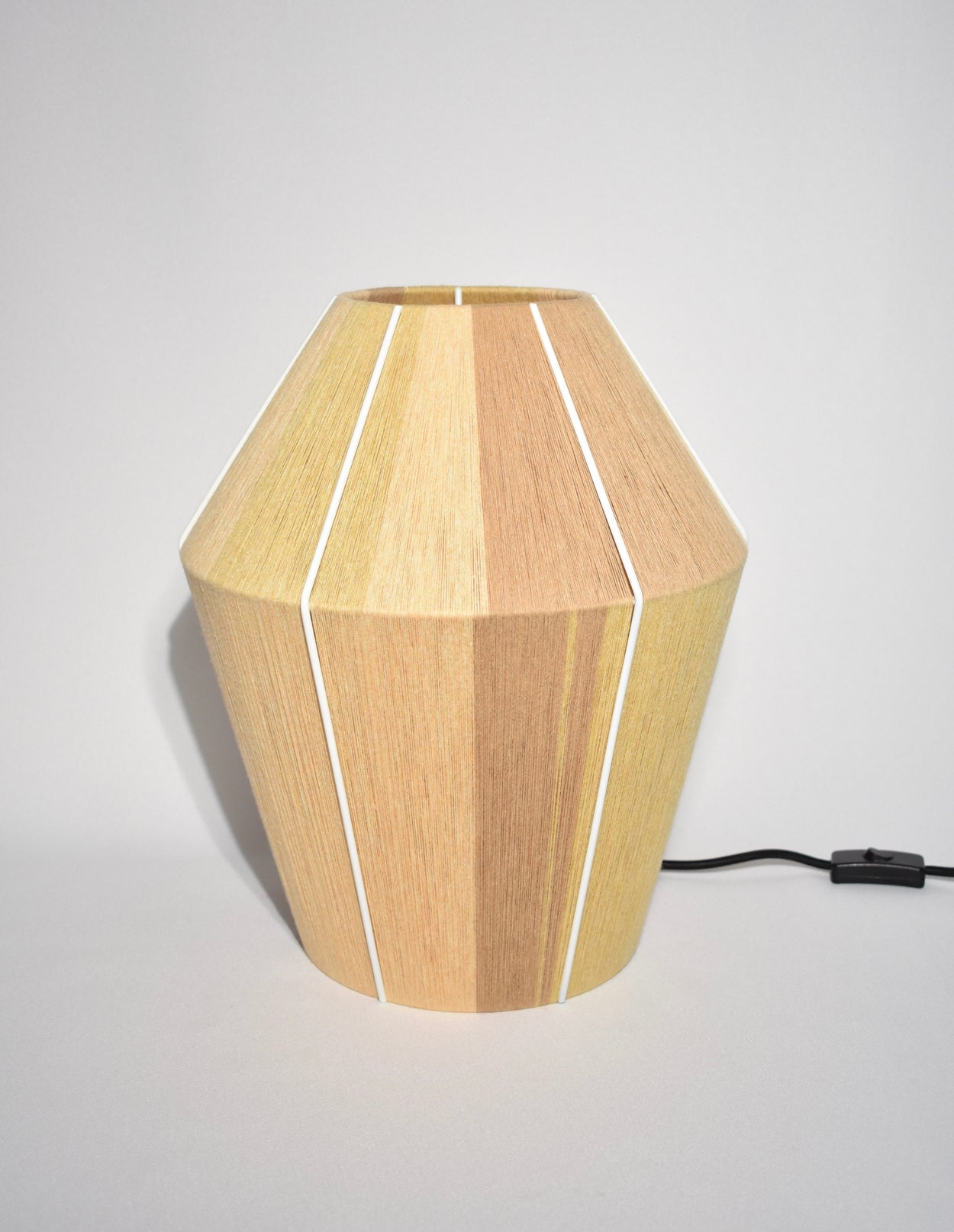 Bonbon Table Lamp in Yellow Melange