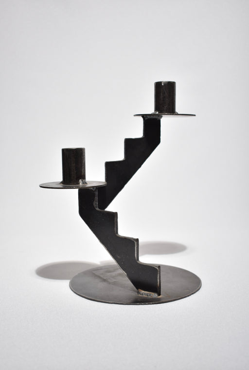 Brutalist Candlestick Holder