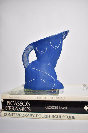 Odalisque Nude Form in Blue