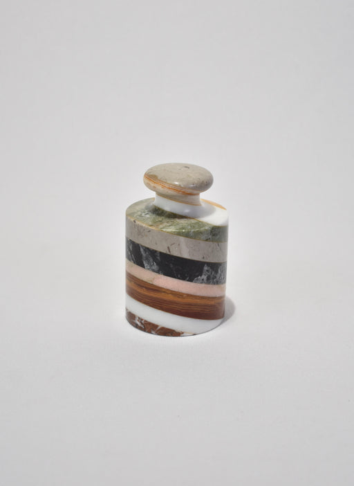 Striped Stone Paperweight