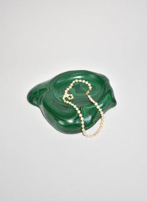 Large Malachite Catchall