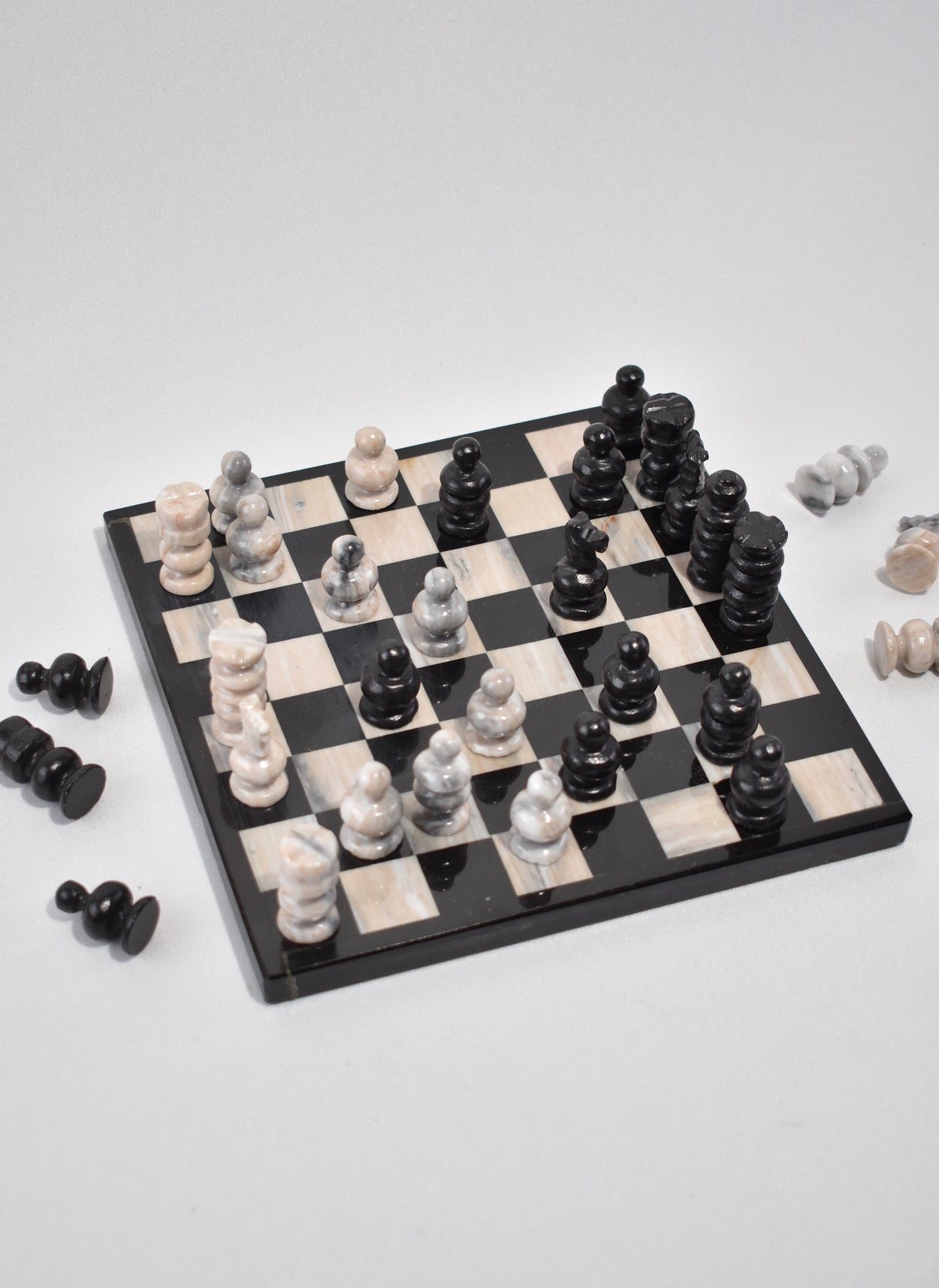 Travel Marble Chess Set