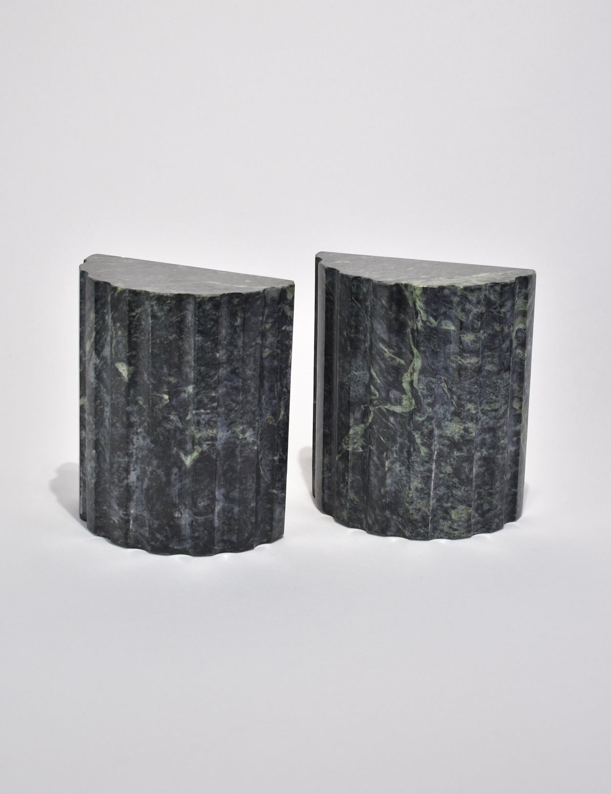 Granite Column Bookends