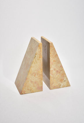 Sunrise Marble Bookends