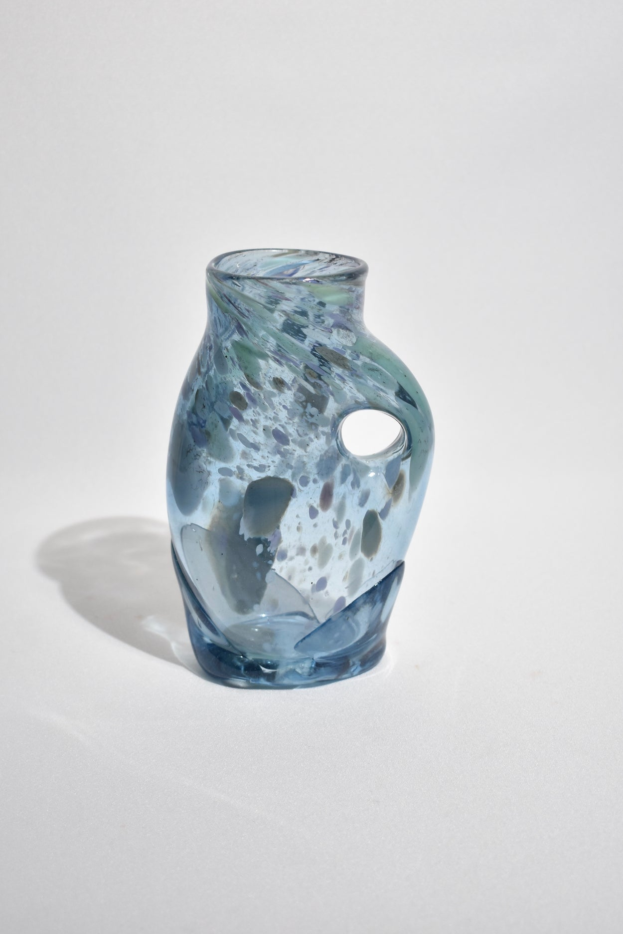 Abstract Blue Vase