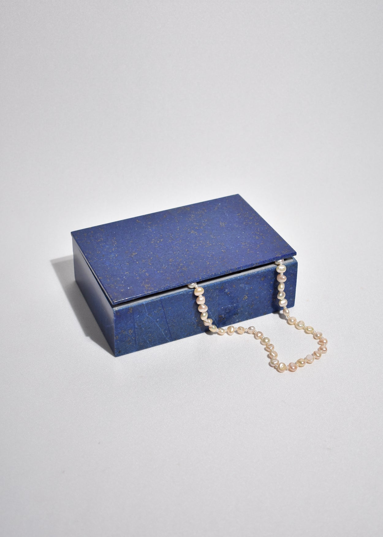 Blue Lapis Jewelry Box