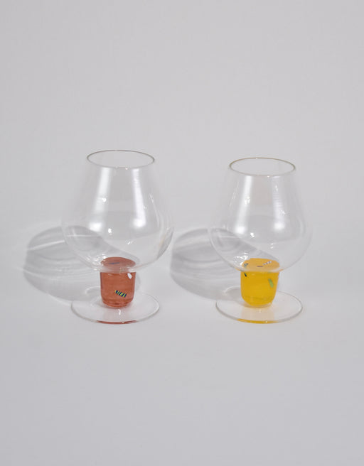 Colorful Stem Goblet Set