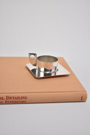 Silverplated Espresso Cup Set