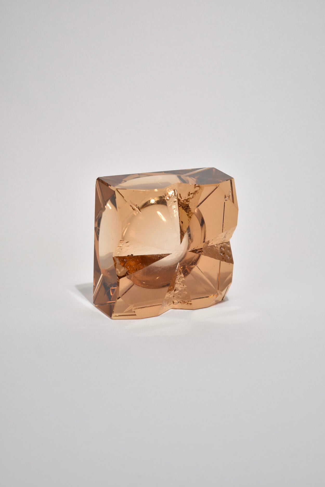 Apricot Glass Catchall