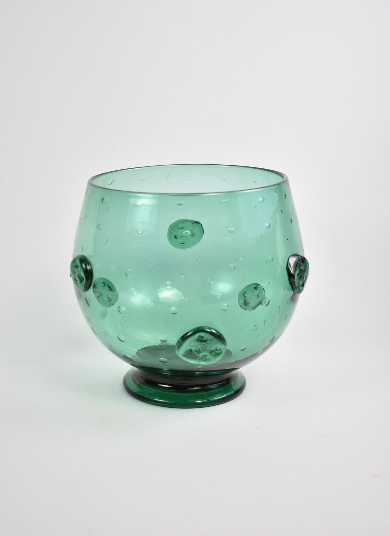 Teal Centerpiece Bowl